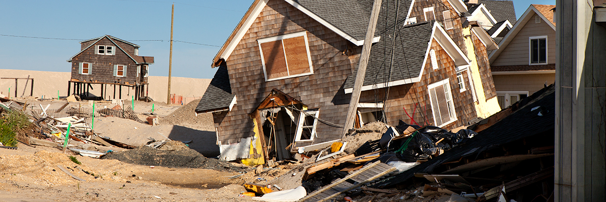 house destroyed