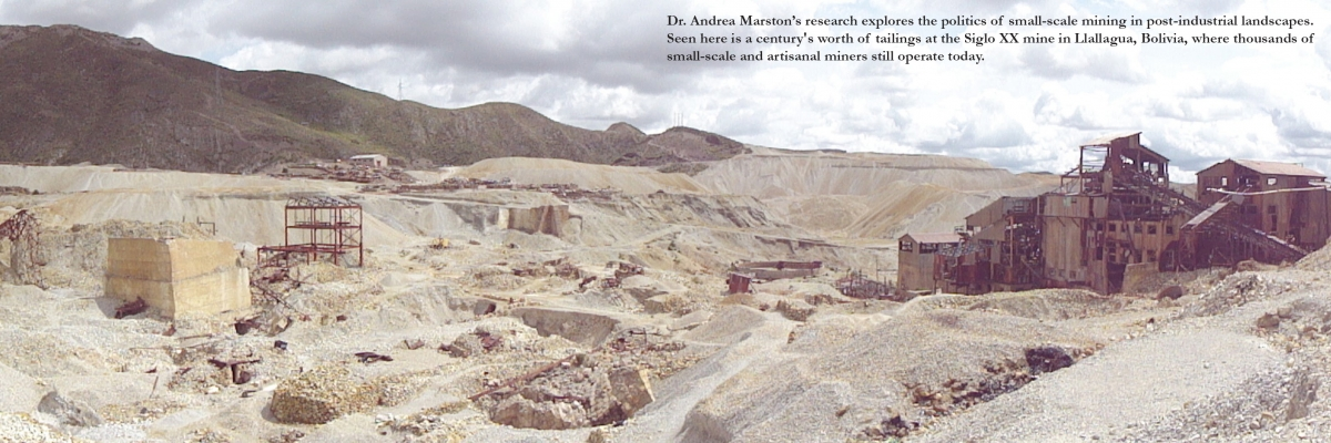 Marston research in Bolivia